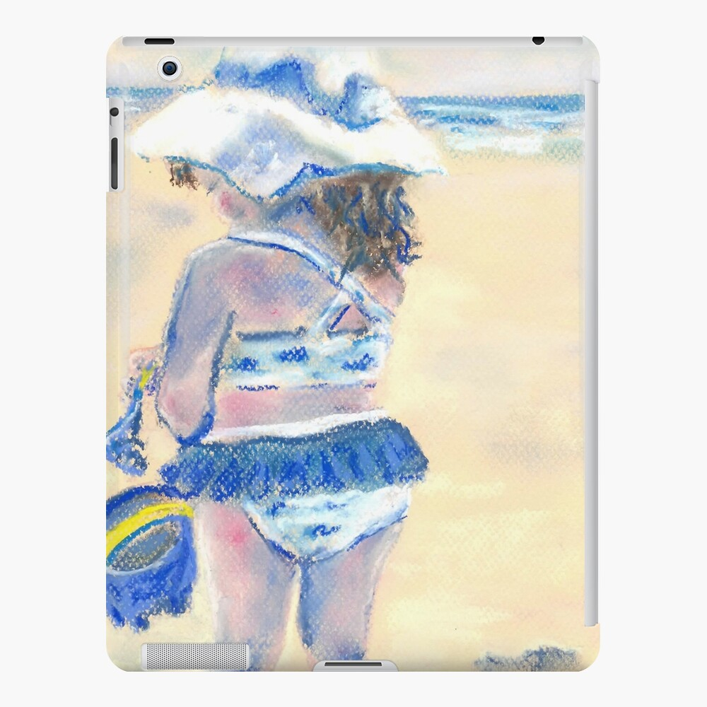 Little Chunky Thighs on the Beach (Pastel) iPad Case & Skin