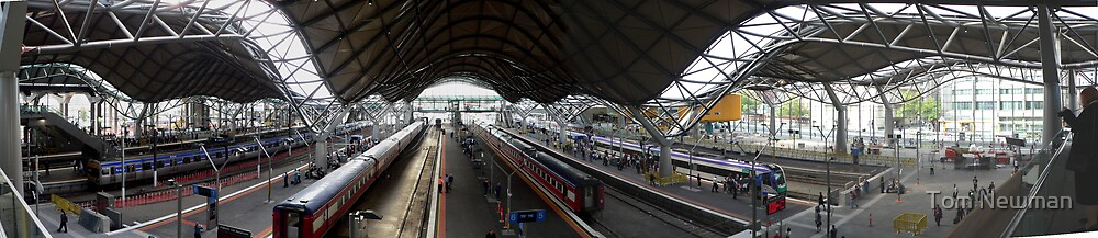 Southern Cross Station 2006 by Tom Newman