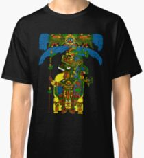 Great Mayan ruler of Tikal on his throne Classic T-Shirt