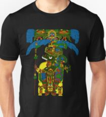 Great Mayan ruler of Tikal on his throne T-Shirt