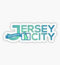 Jersey City Sticker
