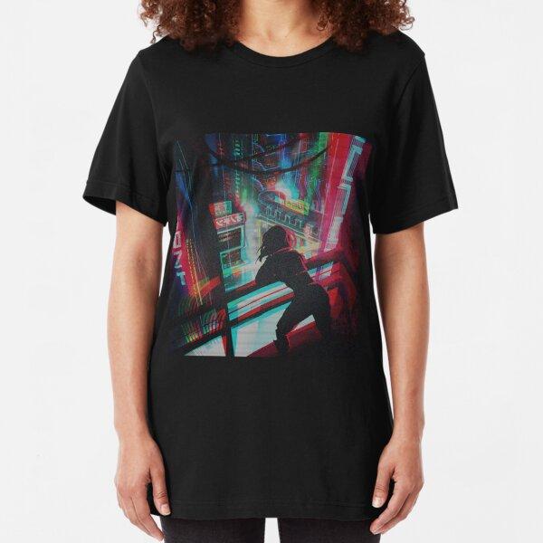 GITS cyberpunk Slim Fit T-Shirt