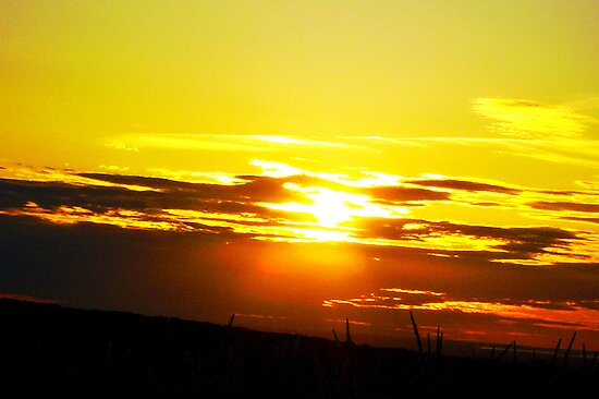 NY Sunset 2 by Heather Morris