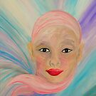 Bald is Beauty with Brown Eyes by EloiseArt