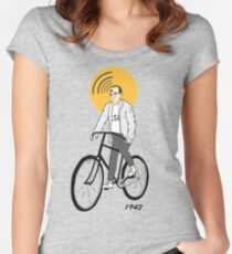 Hoffman Bicycle Day Women's Fitted Scoop T-Shirt