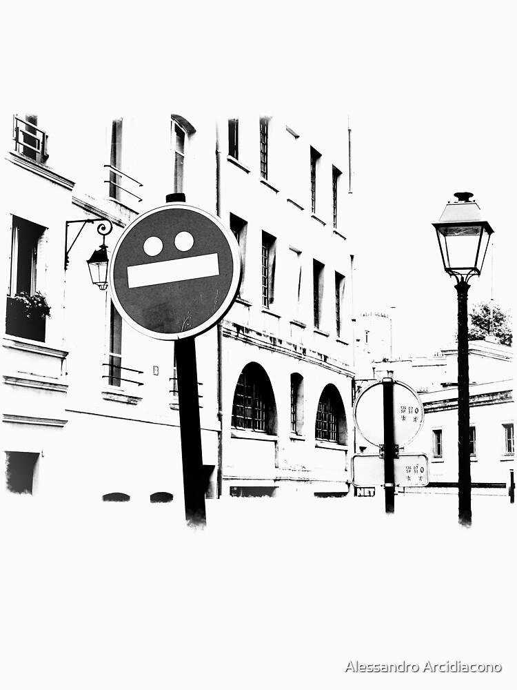 A Paris street by Rool