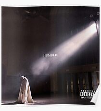 Demütigen. - Kendrick Lamar Poster