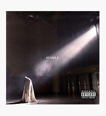 Humble. - Kendrick Lamar Photographic Print