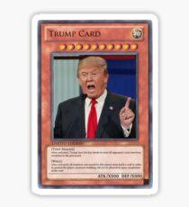 trump card Sticker