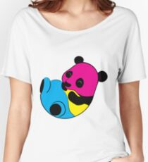 Pansexual Panda  Women's Relaxed Fit T-Shirt