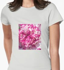 Carnation Womens Fitted T-Shirt