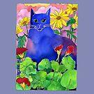 Sunset Cat by TangerineMeg
