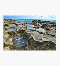 Ocean Rocks Photographic Print