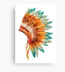 Chief's Headdress Canvas Print