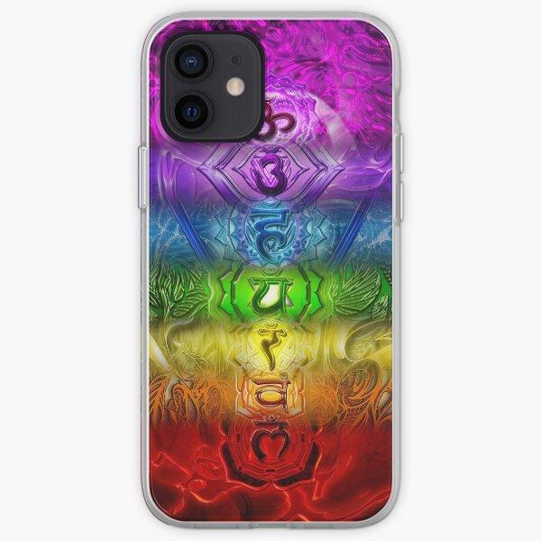 Zen Doodle Chakra iPhone Soft Case