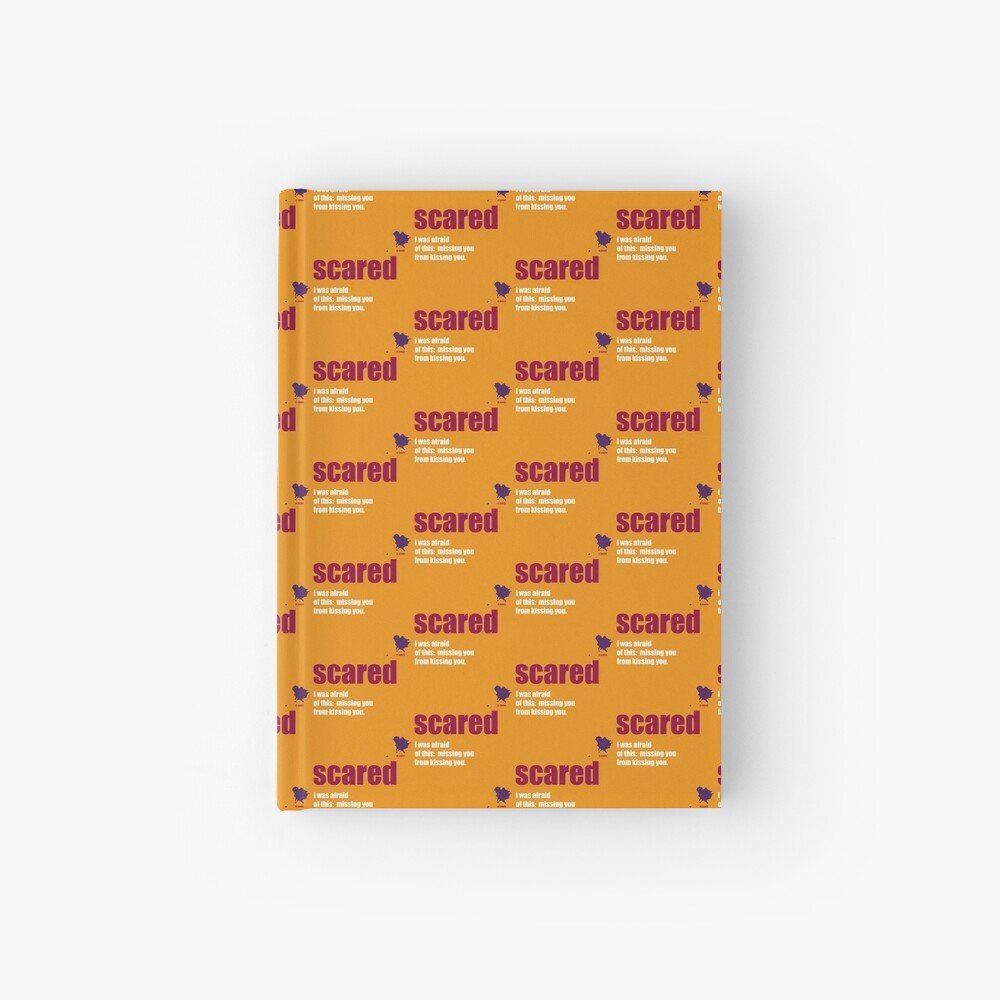 scared Hardcover Journal