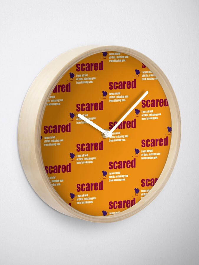 Alternate view of scared Clock