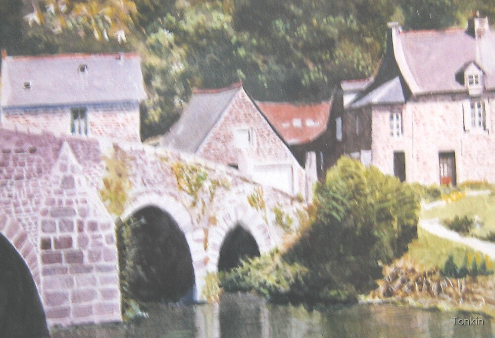 Lehon, Brittany by Tonkin