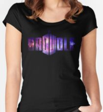 Doctor Who Badwolf - Galaxy # 1 Women's Fitted Scoop T-Shirt