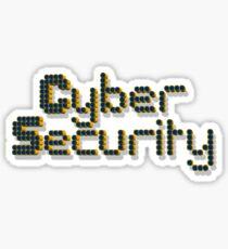 Ciber Security Internet Sticker