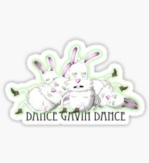 Dance Gavin Dance Bunnies (Inspire The Liars) Sticker