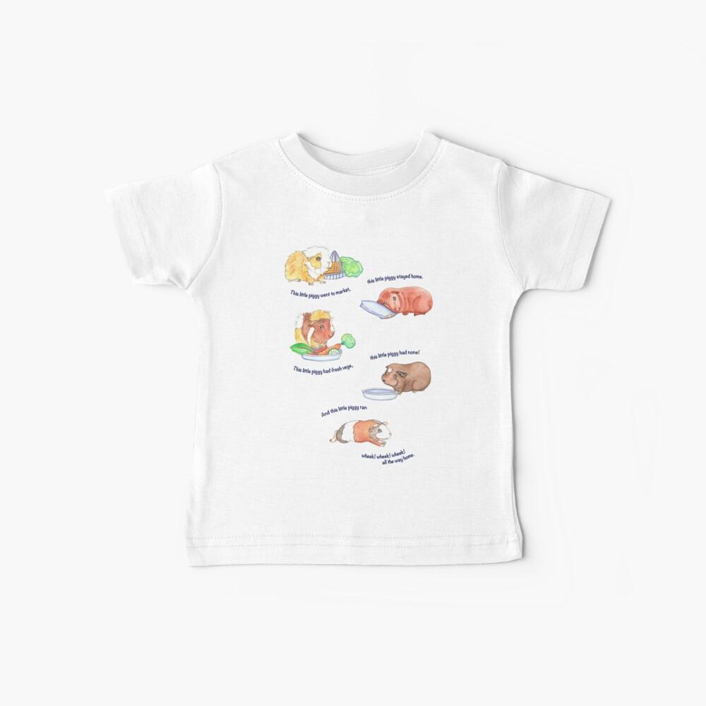 Este Litte Piggy Camiseta para bebés
