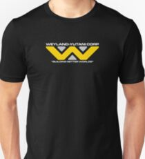 Weyland Yutani Corp - White Text version Unisex T-Shirt