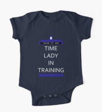 Time Lady In Training One Piece - Short Sleeve