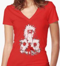 hokage Women's Fitted V-Neck T-Shirt