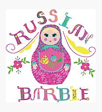 Russian Barbie Photographic Print