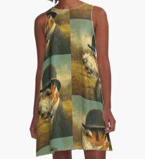 Vintage Jack Russell A-Line Dress