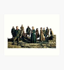 black sails Art Print