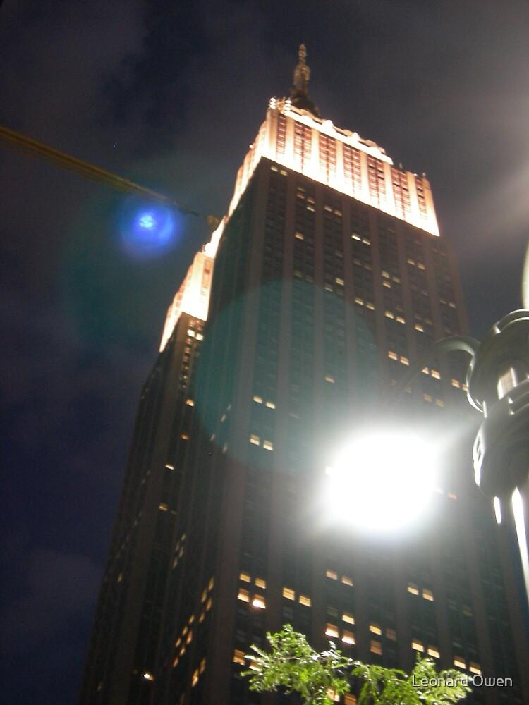 New York Light Flares by Leonard Owen