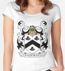 Fairway Coat of Arms Women's Fitted Scoop T-Shirt