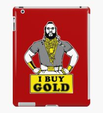 I Buy Gold IPad iPad Case/Skin