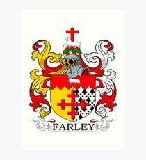 Farley Coat of Arms Art Print