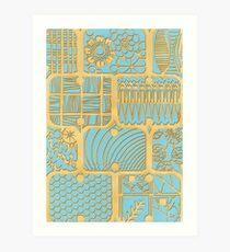 Patterns in paper 2 Art Print