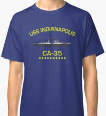 USS Indianapolis : Inspired by Jaws Classic T-Shirt