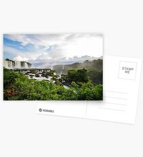 Early morning at the Iguazu Falls Postcards