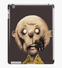 Charlie Brown is a zombie iPad Case/Skin
