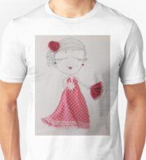 Flamenko girl Unisex T-Shirt