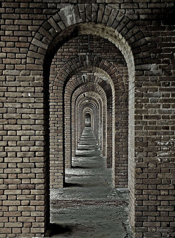 Ft Jefferson arches by joemc