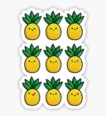 Pinapple Emoji Sticker