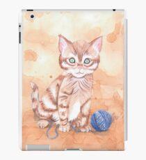 Kitten With Yarn iPad Case/Skin
