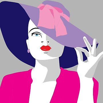 Purple Hat by MichaelB