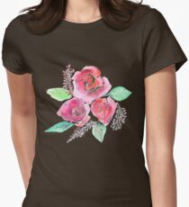 Summer Blossom Womens Fitted T-Shirt