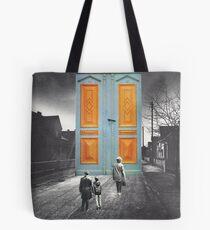 Let Us In Tote Bag