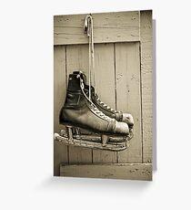skates Greeting Card