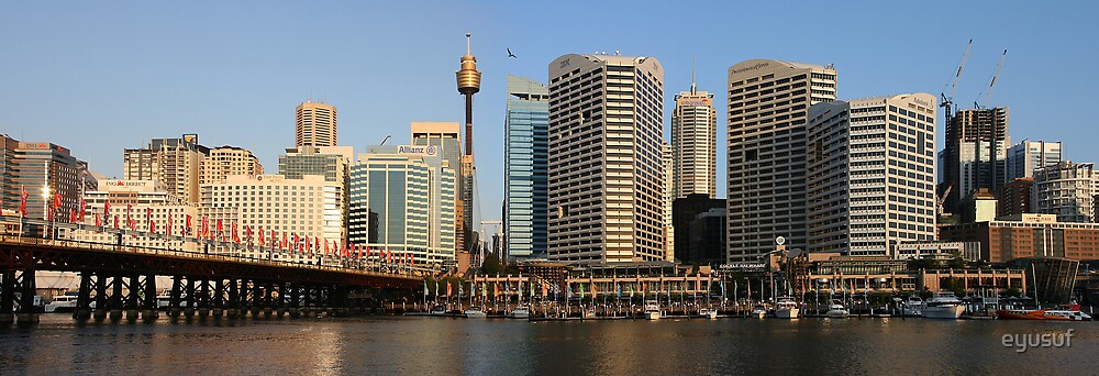 Sydney Darling Harbour by eyusuf
