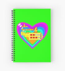 WE ALL LIVE IN A YELLOW TIME MACHINE  Spiral Notebook